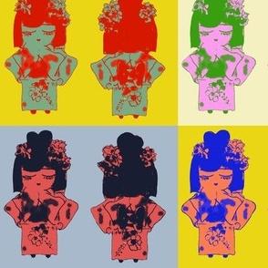 Jazzy Jasmine goes Pop Art