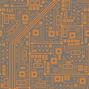 Robotika Circuit Board (Orange)