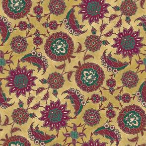 Antique Arabic floral