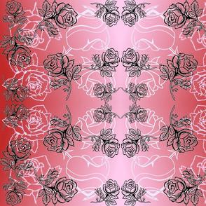 ROSE GARDEN COLLAGE