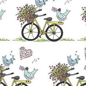 Love Notes for Love Birds!!! (white)