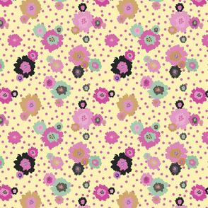 Mustard Flowers Pink