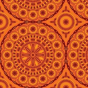 Southern Circles (Orange)