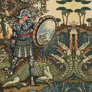 Perseus' mirrored toile