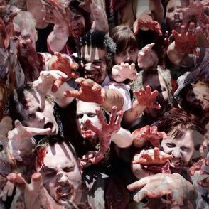 Zombie Horde - Walking Dead