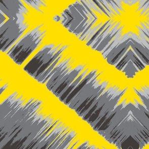 Gray and Yellow Waterfall