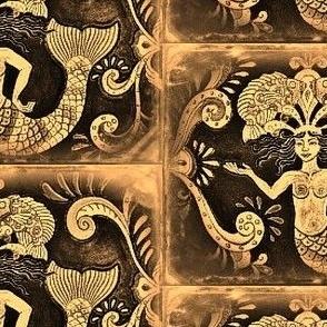 Grand Mermaids-Antique
