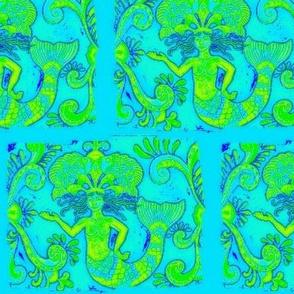 Grand Mermaids-greens/blues2