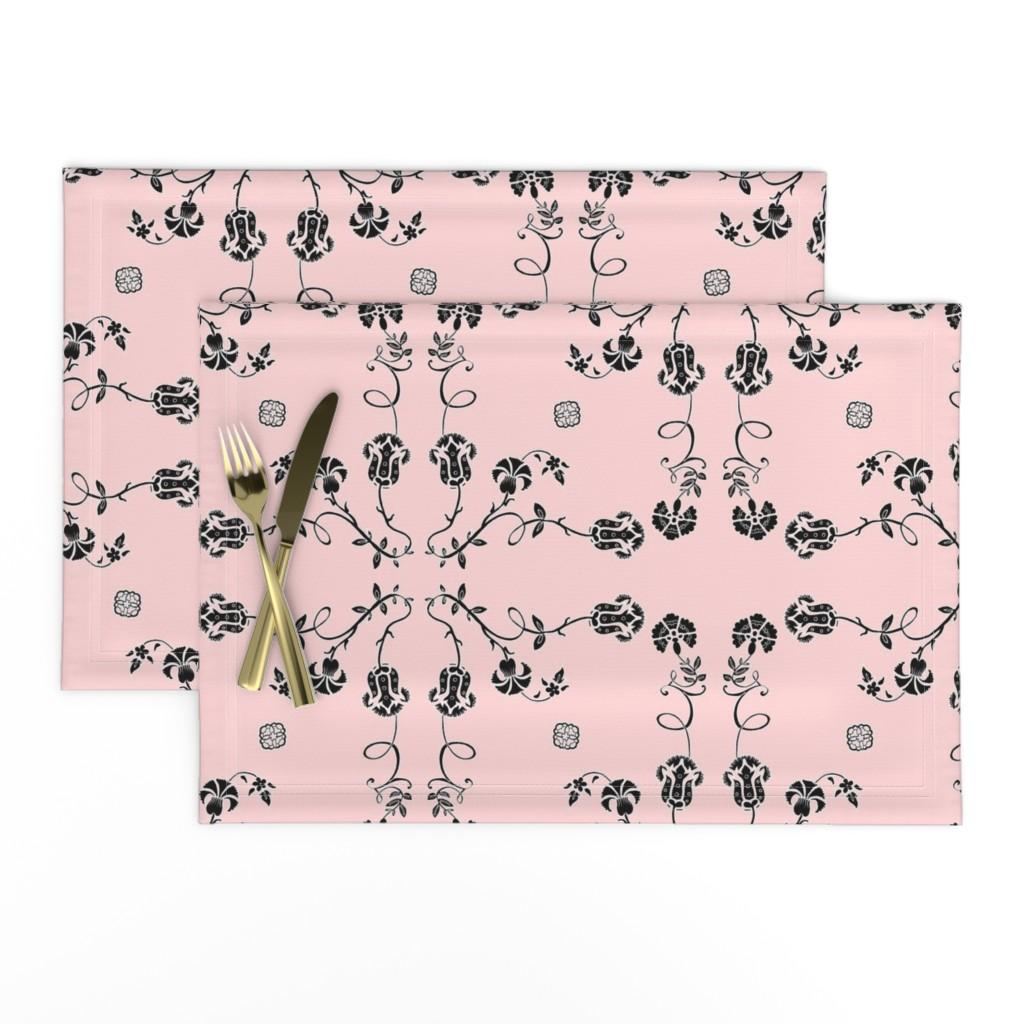 Lamona Cloth Placemats featuring Classic by jadegordon