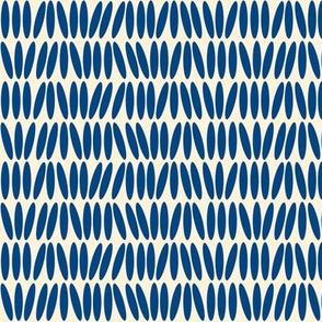 Kenya Stack - Blue and Creme