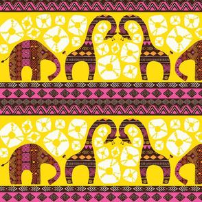 African Animal Sunrise