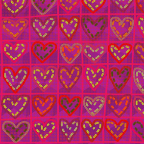 Hearts in stitches 2.