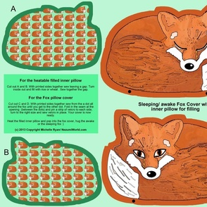 Mr Fox Awake/ Asleep Cover