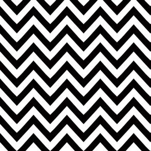 chevron black and white