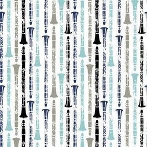Grunge Clarinets - Shades of Blue