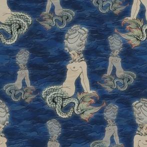 The little Rococo mermaid