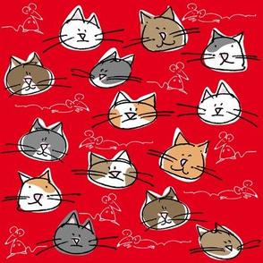 kitties and mice