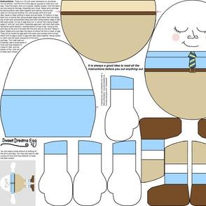 Sweet Dreams Egg - rice bag cover