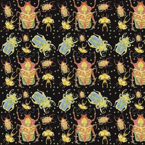 Beetles Rumble in the Dark