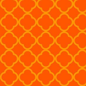 Orange & Sunshine Medallion