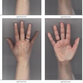 Right Hand Oven Mitt