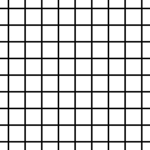 grid white