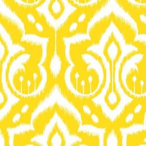 Sunshine Damask - Nursery Yellow