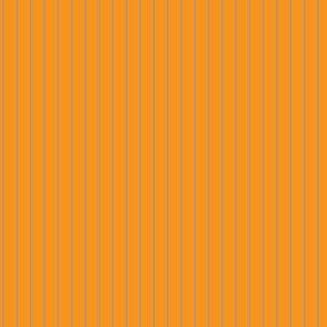Orange and Brown Pinstripe