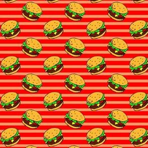 Cheeseburger Dream Red