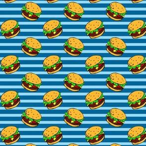 Cheeseburger Dream Blue