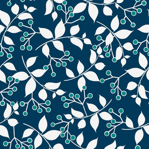Sprig, Navy + Teal