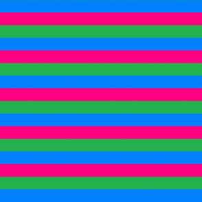 Polysexual Pride Stripes