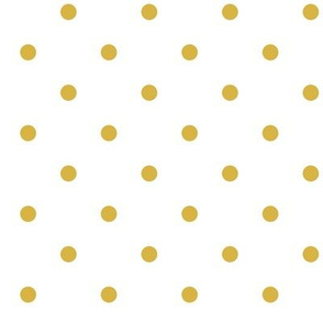 Gold Polka Dots (Large)