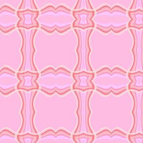 elegant pink stripe