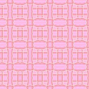 pink elegance on pink tartan
