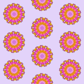 Pink Peony Mandala