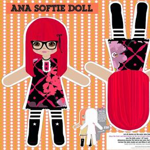 Ana softie doll