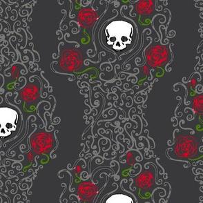 Where the Wild Roses Grow (Dark Grey)