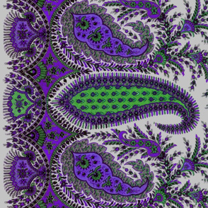 The Paisley Sublime ~ Dowager Countesss Border Print