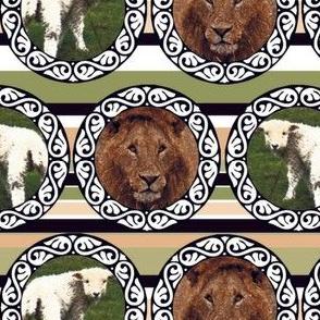 L for lion, L for lamb