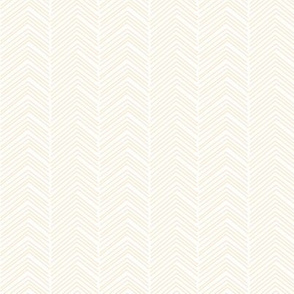 chevron love ivory