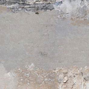 cracked distressed plaster wall