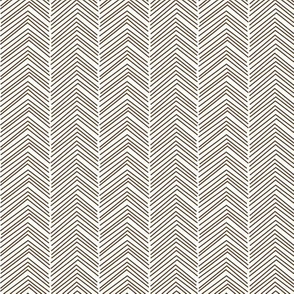chevron love brown