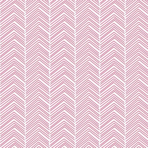 chevron love hot pink