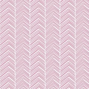 chevron love hot pink