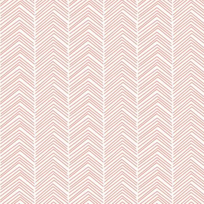 chevron love peach