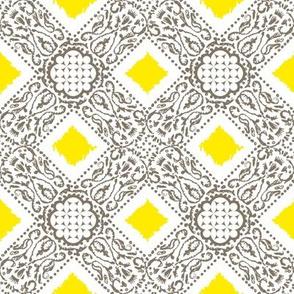 EXOTICO - pebble and lemon