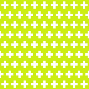 plus in lime