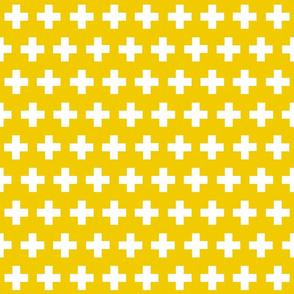 plus in mustard yellow