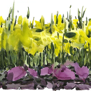C'EST LA VIV™ Garden Lark Collection_Running Daffodils